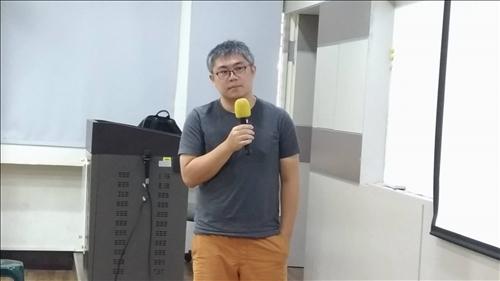 電影「下半場」的剪輯師陳俊宏