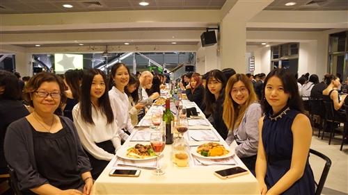 108學年度淡江大學蘭陽校園新聲餐會