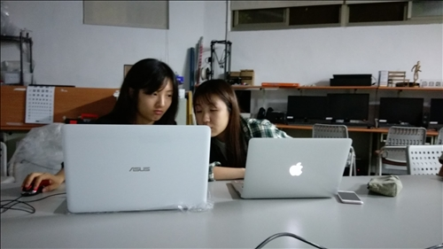 課堂的網站撰寫與學習討論