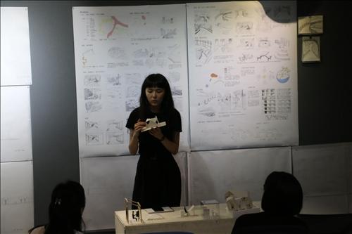 建築系學生小組作品理念解說與作品說明