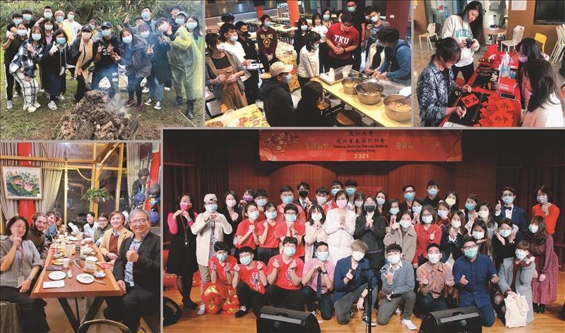 國際處寒假期間為境外生安排系列活動,充實寒假生活,也帶領他們進一步體驗臺灣各式文化風情。(圖/淡江時報社資料照)