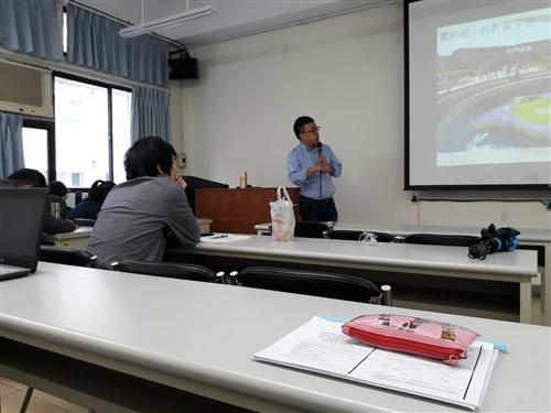 水環系----敬邀參加3-5-5產學創意合作推廣專題演講〜河川水環境營造工程