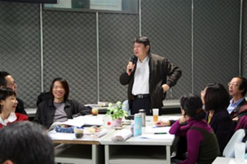 良師益友傳承帶領制團體活動-「M&M's 相見歡茶話會」
