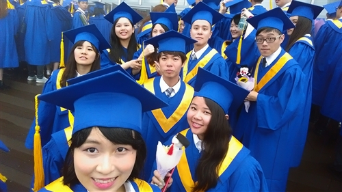 蘭陽校園第7屆畢業典禮-淡江世界村萬里鷹飛颺