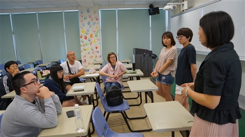 106學年度蘭陽校園大三學生出國行前說明會
