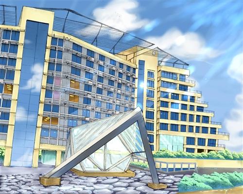 蘭陽校園宿舍大樓