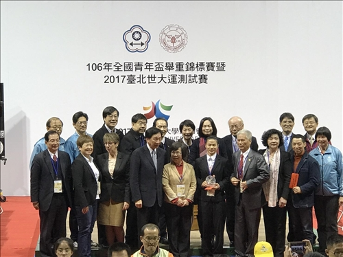 2017臺北世大運舉重測試賽為8月賽事熱身