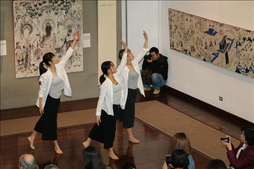 敦煌石窟藝術走進校園 帶來世界級文化饗宴