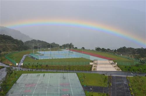 優質的住宿學院:一道彩虹