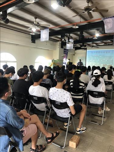 淡江學園R樓舉辦消防安全宣導及新生講習