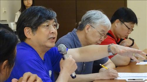 本校電機系劉金源教授發表針對水下資產文化的看法