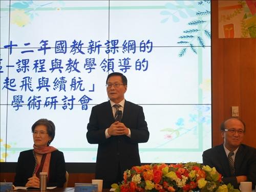 淡江大學校長葛煥昭也肯定學校教育方針與教育部一致。