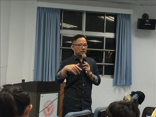林文龍導演講述影片拍攝重點及劇情安排技巧