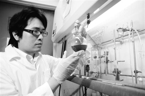 化學系博士生陳威宏