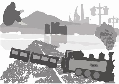 北淡線火車的回憶
