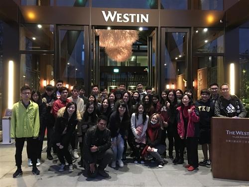 觀光系企業參訪-宜蘭力麗威斯汀度假酒店