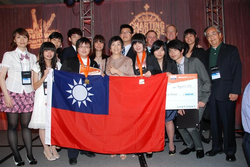 台灣之光!廖妤瑄同學勇奪世界冠軍。
