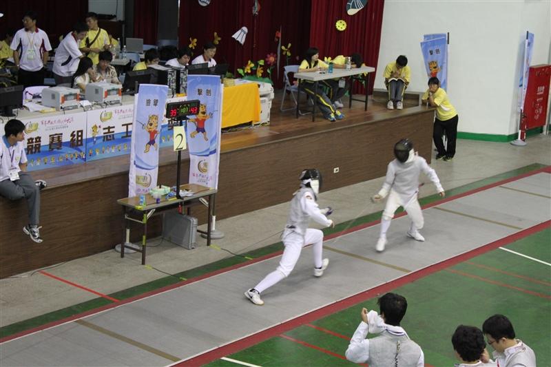 本校在「2011全國大專校院運動會」榮獲22面獎牌。