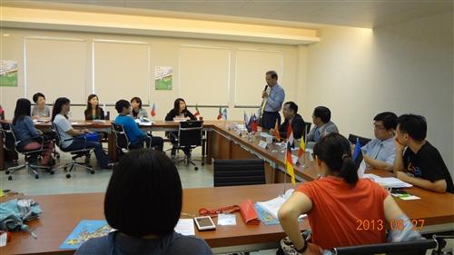 2013 歐洲聯盟的核安暨永續發展夏季研習班