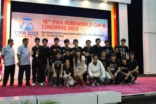 2013 FIRA世界盃機器人足球賽