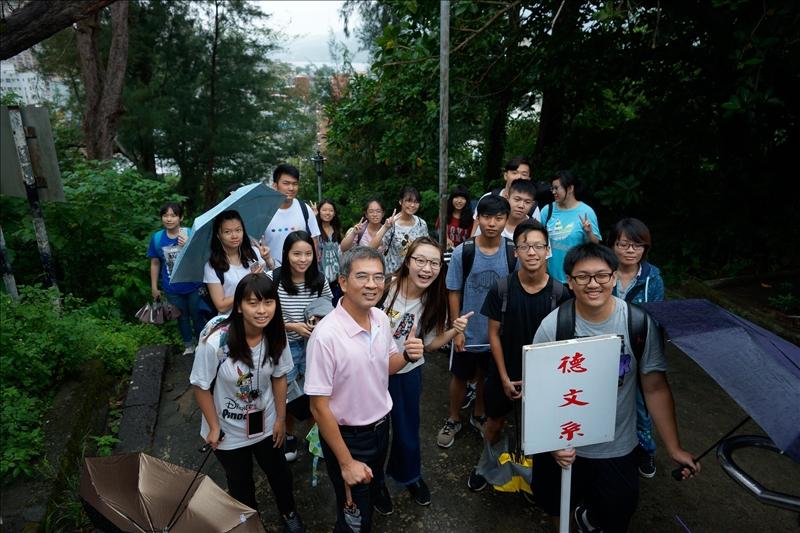 「登克難坡」新生開啟五虎崗歲月第一堂課