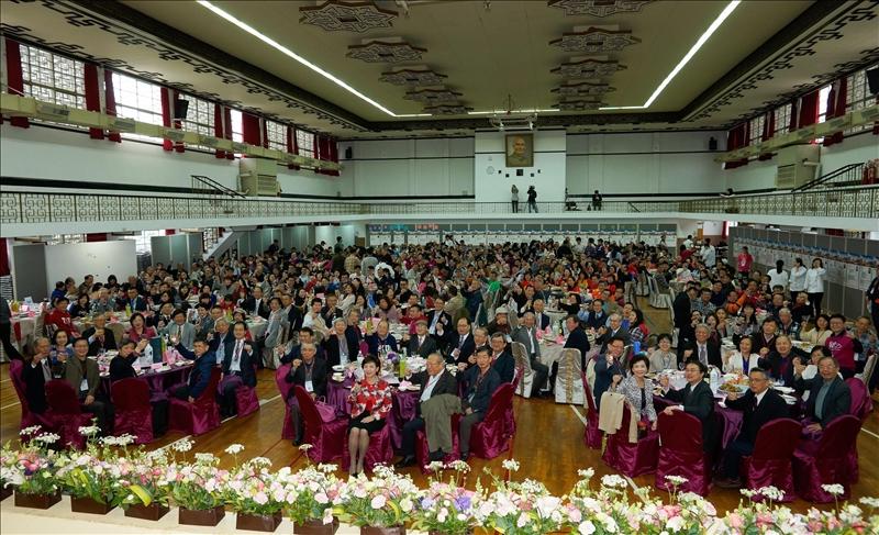 「2017春之饗宴」校友年度盛會。