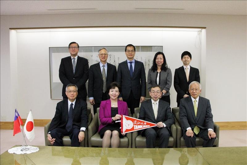 張校長上週率團訪問日本國立北海道大學、鹿兒島大學、東京外國語大學及津田塾大學等4所姊妹校。
