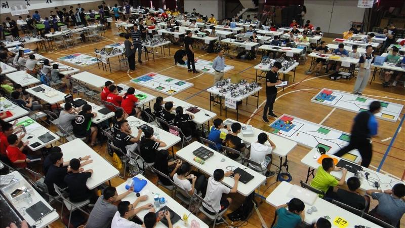 由本校與台灣玉山機器人協會共同舉辦的「2017年國際奧林匹亞機器人大賽北區初賽」於8月12日及13日盛大舉行。