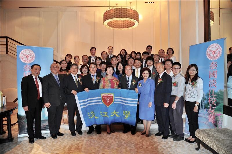 張校長上週率領中華卓越經營協會2017泰國卓越經營交流研習團訪問。