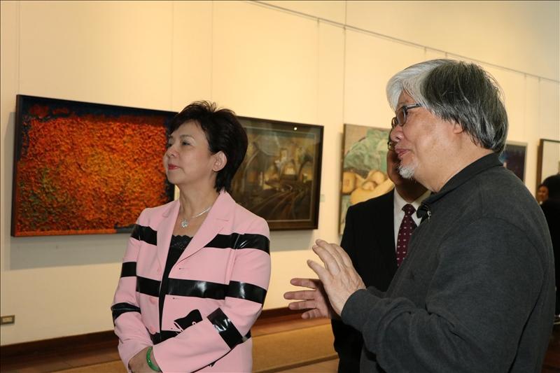 呈現臺灣在地的藝術本能與民族性的作品展