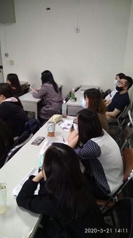 故事團隊參加工作坊上課