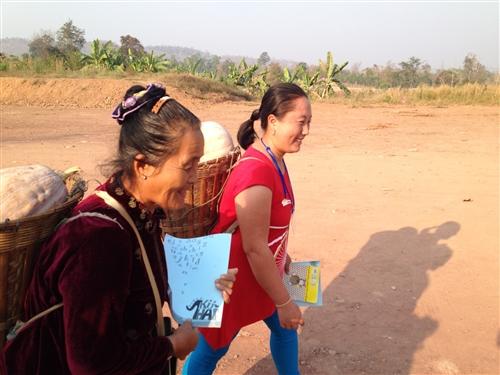 本校海外服務學習團遠至泰北苗疆服務。