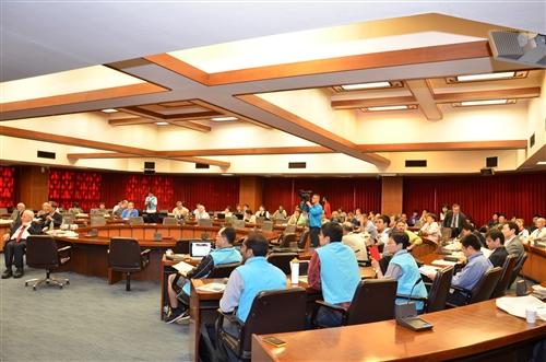 諾貝爾化學獎得主R.A Marcus、李遠哲教授蒞校參加QSCP-XIX研討會並作專題演講。