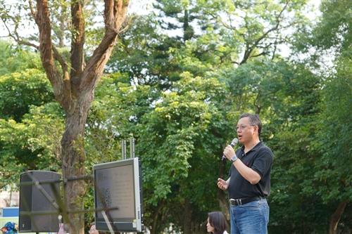 學務處舉辦「人、樹、珍重,一場人與樹的對話」活動。