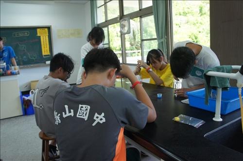 同學們認真做實驗