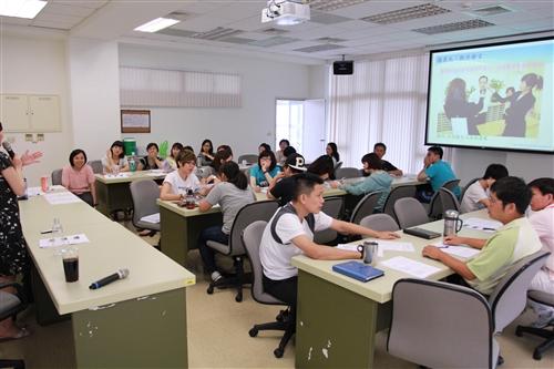 蘭陽校園住宿學院特色講座「危機事件處理實務演練」講習
