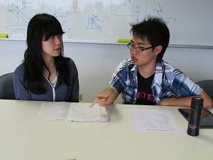 學習與教學中心舉辦大學部基礎科目1-3人個別輔導。