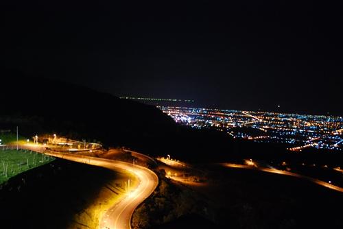 蘭陽校園夜景