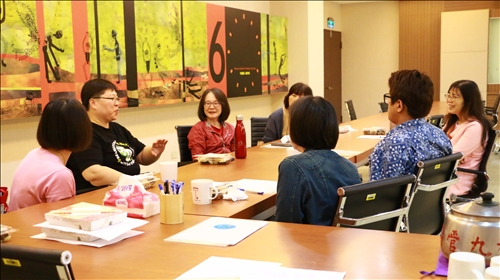 林主任分享課程的時間和活動規劃