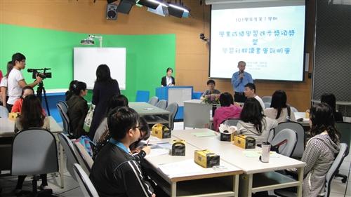 學習與教學中心於10月30日(星期二)舉辦「學業成績學習進步獎頒獎暨學習社群讀書會說明」