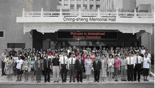 98學年度「外國學生新生說明會」