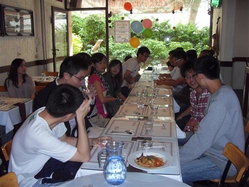 經濟學系校友返校餐會