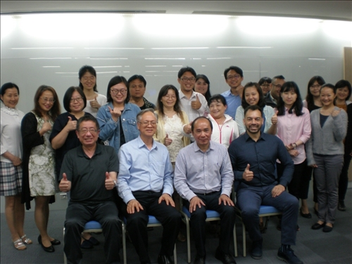 107年度  國外教授來訪學術演講「中國高等教育的戰略思維」演講