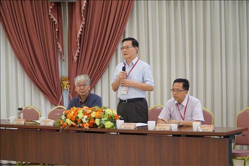 本校USR計畫辦公室主任葛煥昭副校長開幕致詞