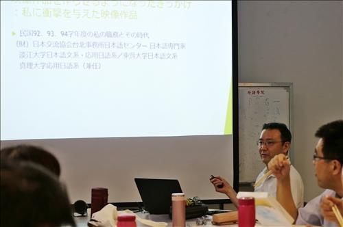 日文系堀越和男老師研究實務經驗分享
