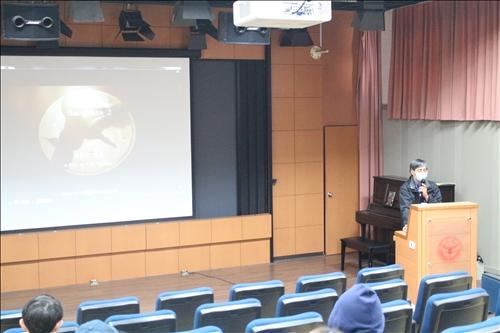 特邀國立雲林科技大學視傳系林泰州副教授蒞臨演講