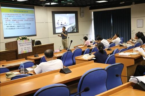 介紹電機系舉辦的創新創意競賽