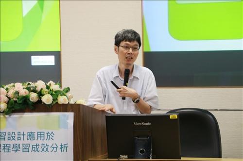 資訊工程學系陳瑞發老師分享小組活動對學習成效的影響
