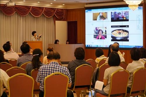 大傳系王慰慈老師分享「新住民志」的拍攝過程