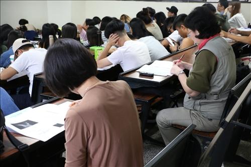 與會老師專注做筆記